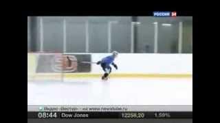 Хоккей Пеликаны(Хоккейская команда пеликанов показывают свои навыки, как тренируют команду хоккеистов., 2014-01-13T08:09:19.000Z)
