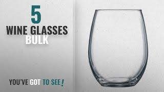Best Wine Glasses Bulk [2018]: Luminarc 15 Ounce Stemless White and Red Wine Glasses, Set of 12