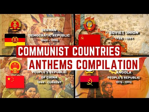 Communist Country National Anthems Compilation