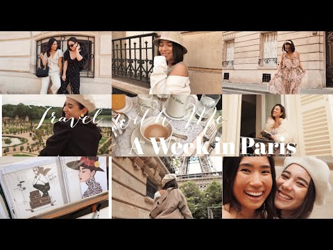 TRAVEL WITH ME TO PARIS | Paris Vlog 2019
