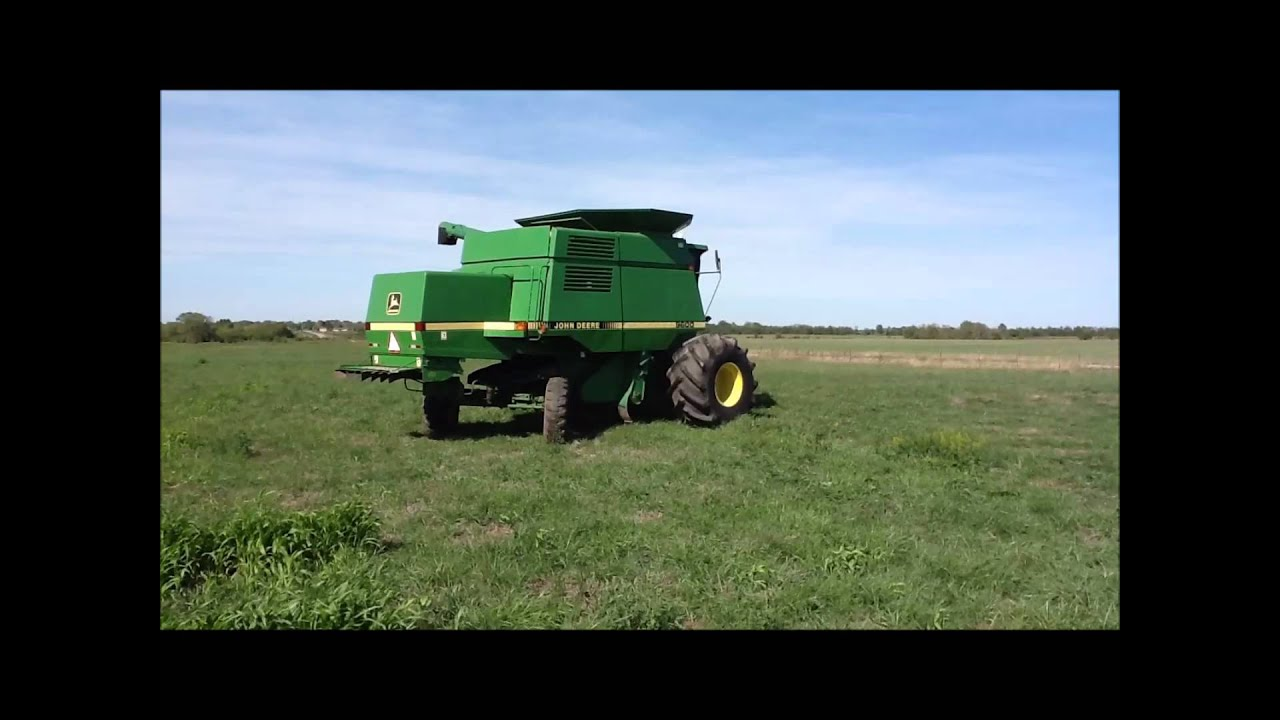 1994 John Deere 9600 Combine For Sale Sold At Auction