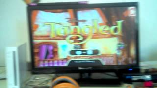 Tangled game on the Wii!