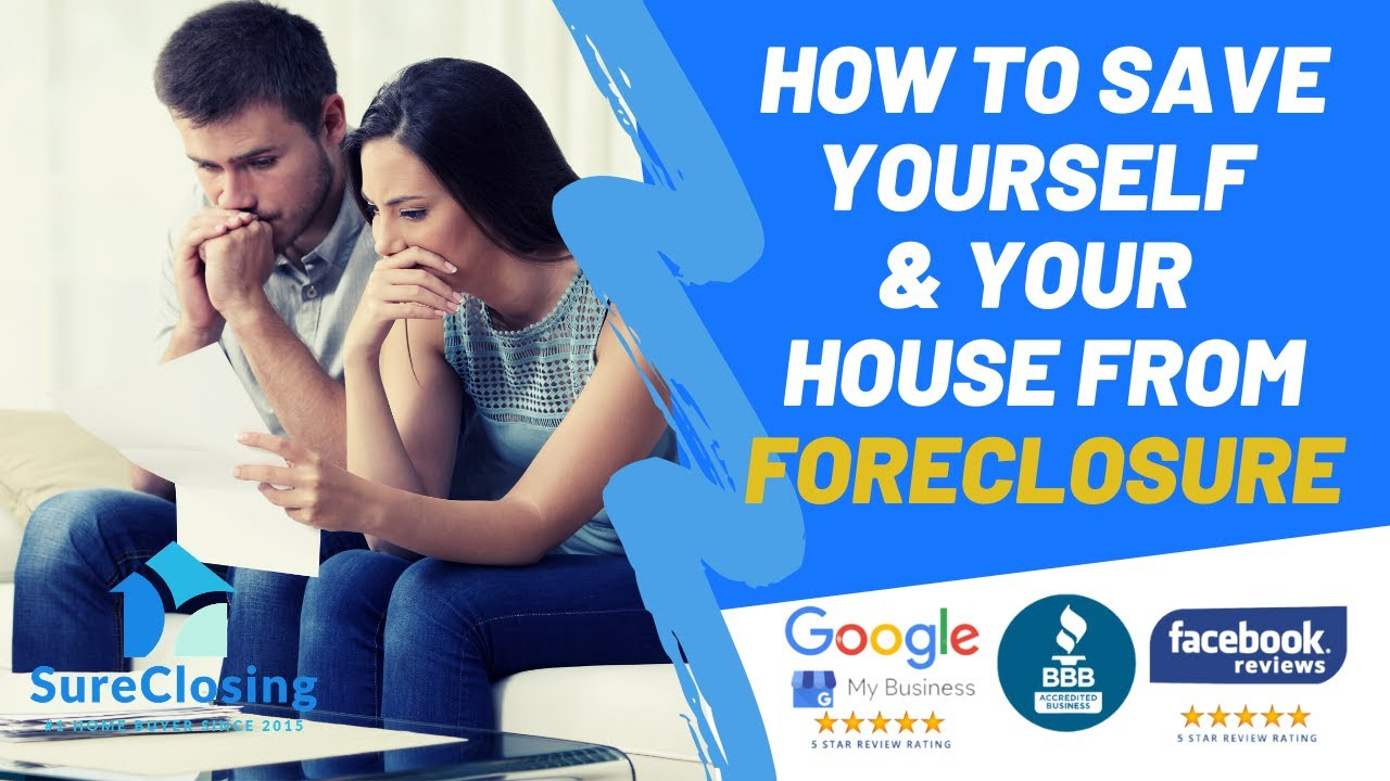 How To Save Yourself & Your House From Foreclosure