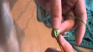 Вязаный купальник Часть 8 Вязание шнура для завязок