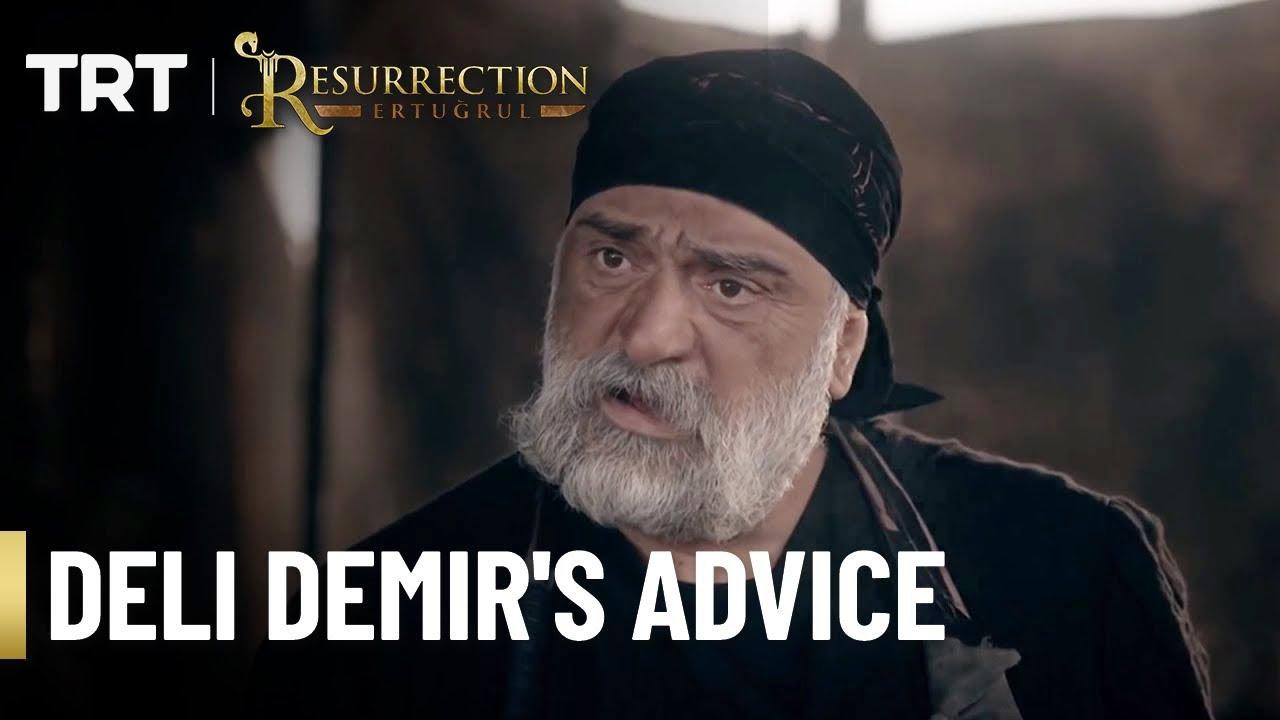 Deli Demir advices a conflicted Ertugrul - Season 1 (English Subtitles)