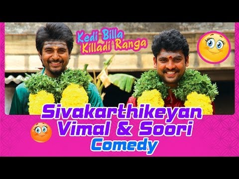 Kedi Billa Killadi Ranga Tamil Movie | Back To Back Comedy Scenes | Sivakarthikeyan | Vimal | Soori