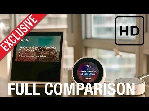 Amazon Echo Spot, Dot and Show Comparison - Best in Tech - 4K Review