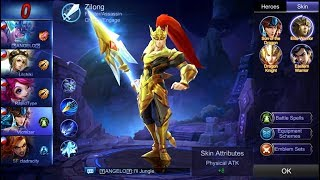 Mobile Legends - Zilong Awesome Game | Elite Warrior Skin