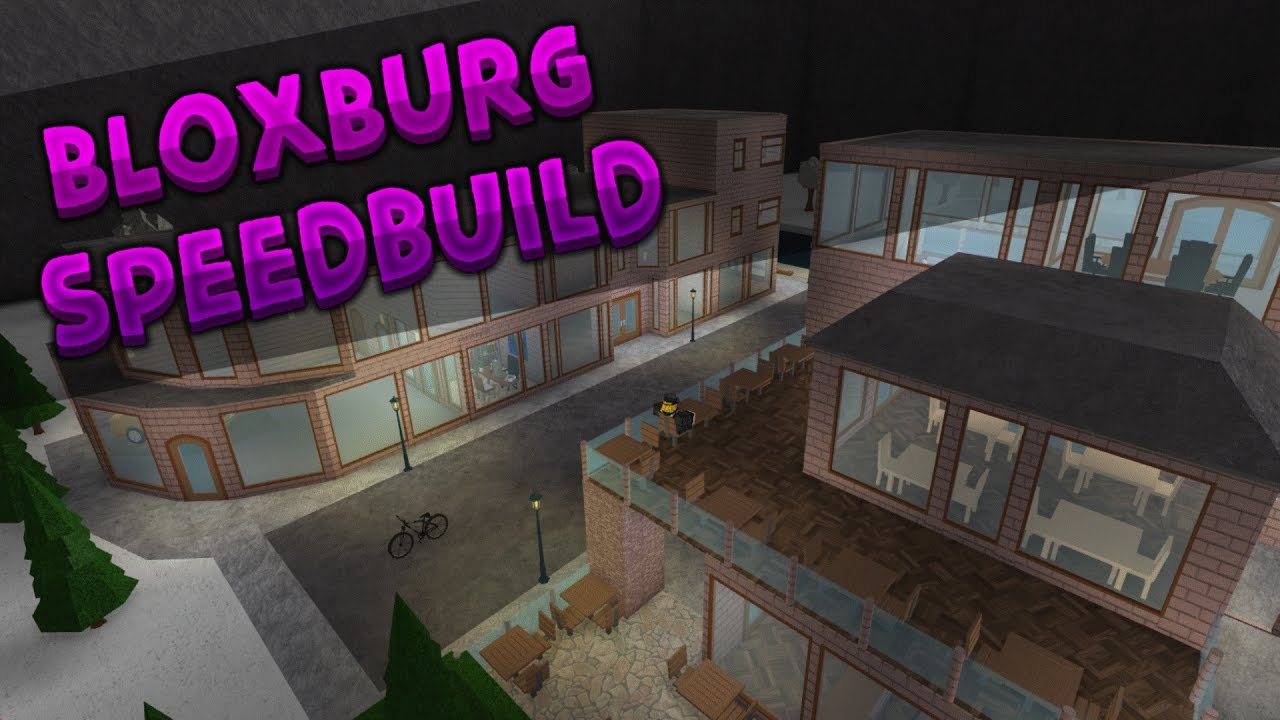Roblox bloxburg district speedbuild part 2 youtube for Modern house design bloxburg
