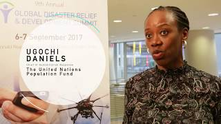 Global Disaster Relief and Development Summit 2017 - Interview with Ugochi Daniels, UNFPA
