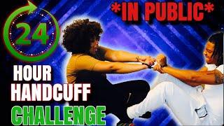 24 HANDCUFF CHALLENGE *IN PUBLIC*