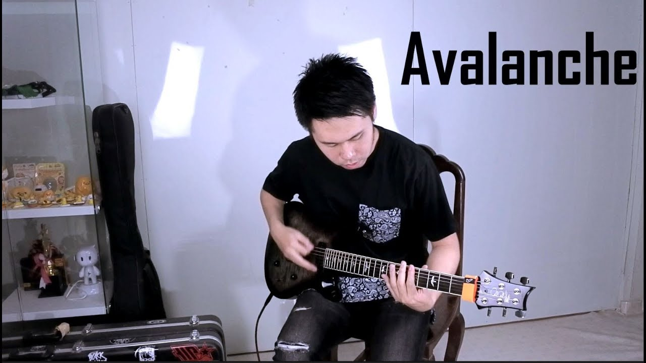 Bring Me the Horizon - Avalanche [Guitar Cover]