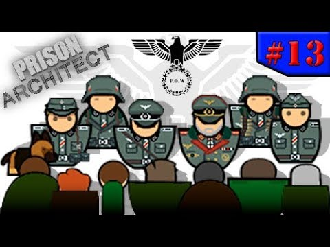 Prison Architect - A MAIOR FUGA MIRABOLANTE!!! #13 (Gameplay/PC/PTBR)HD