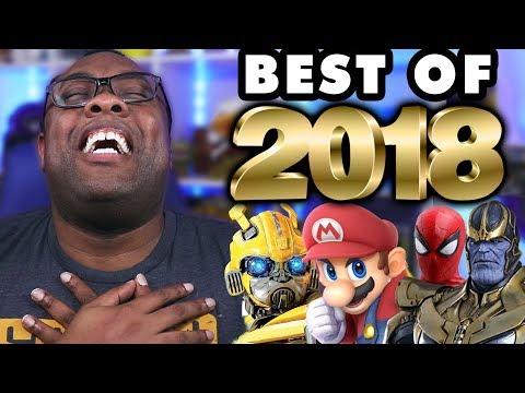 BEST OF 2018 (Movies, Games, Geek) - Black Nerd Rants