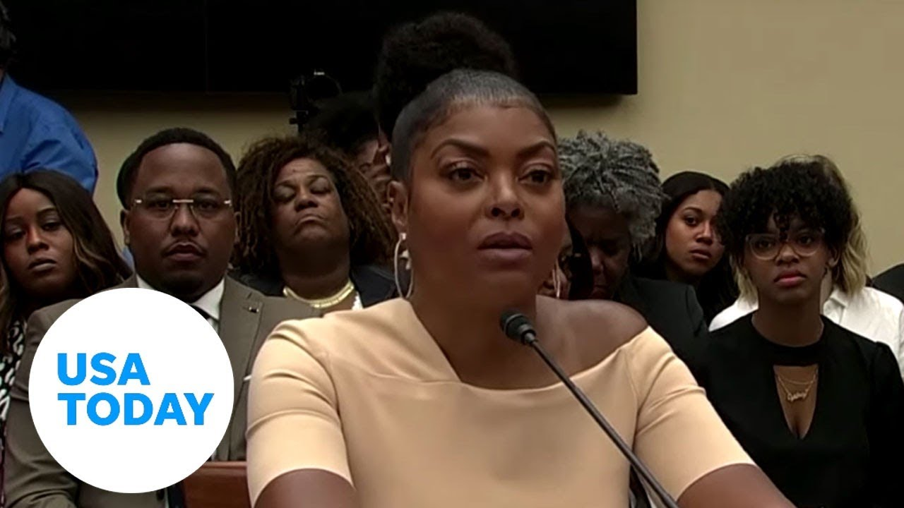 Taraji P. Henson fights the stigma of mental health issues before Congress