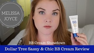 Dollar Tree Sassy & Chic BB Cream First Impression and Review