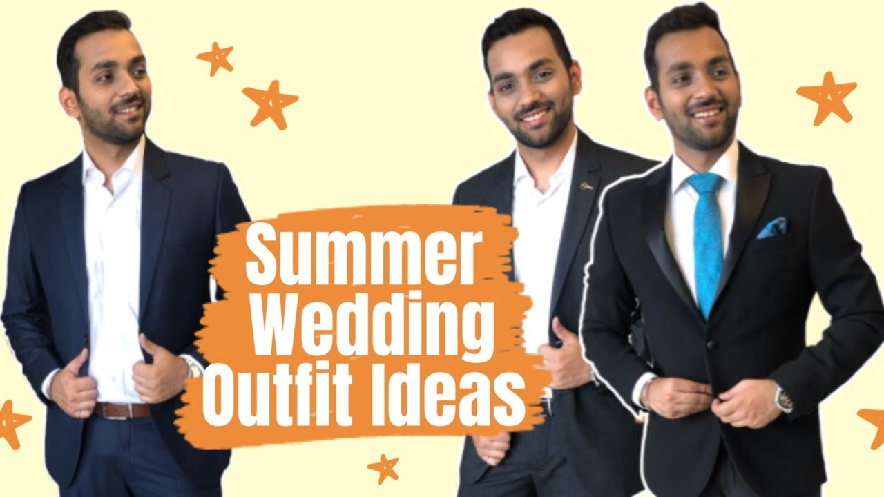 [VIDEO] - SUMMER WEDDING OUTFIT IDEAS FOR MEN | Hindi | How To Dress Up For A Wedding | ANKIT TV 2