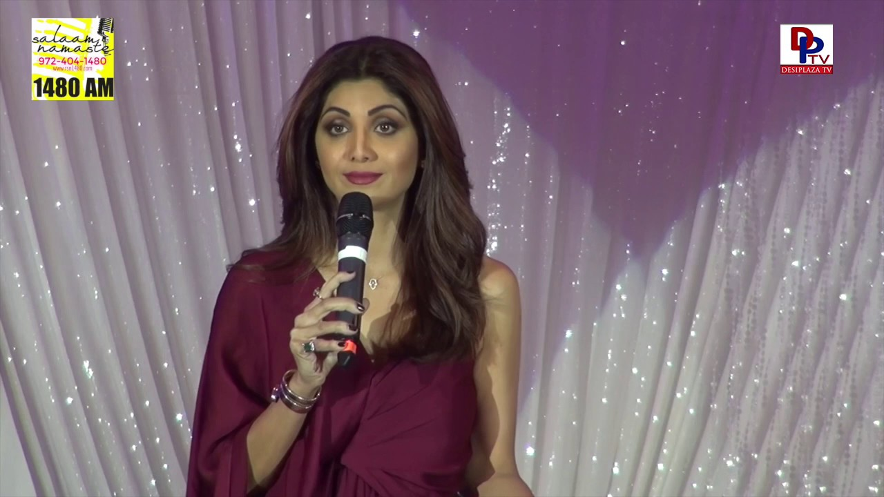 Shilpa Shetty excellent speech at Women Empowerment Gala 2017 in Dallas, USA || DesiplazaTV || RSN