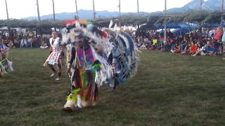 TAOS PUEBLO POW WOW 2019 DAY 2  EVENING-  Young Men Combined