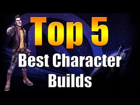 Borderlands The Pre Sequel   Top 5   Best Character Builds