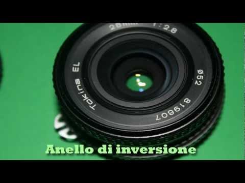 molto carino lussureggiante nel design vasta gamma Macro anello di inversione 550D Canon - YouTube