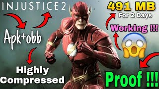 Injustice 2 Highly Compressed (apk+obb) Full Game In Just 491 Mb On Any Android Devices (Must watch)