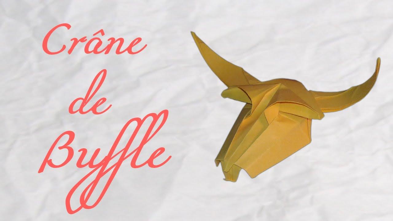 Origami Crane De Buffle