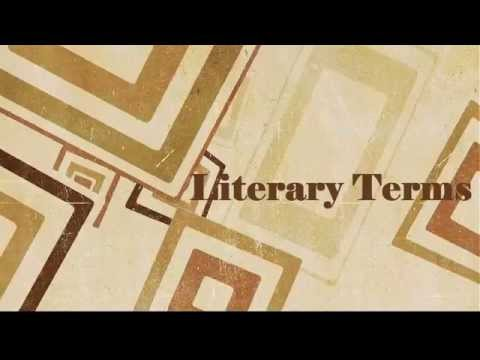 Literary Terms Youtube