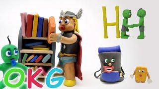 First Day Of School Cartoon | OKG Baby Videos & Kids Cartoons