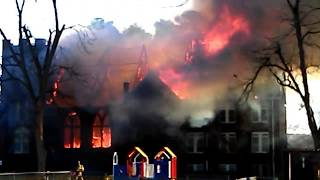Rose Hill United Methodist Church fire New Years Day 2018