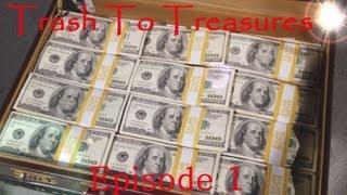 Trash To Treasure Episode 1 - Dumpster Diving Web Series Season 1