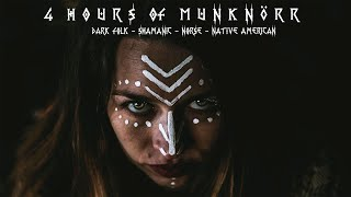 4 hours of Dark Folk  Viking  Native American Music by Munknörr