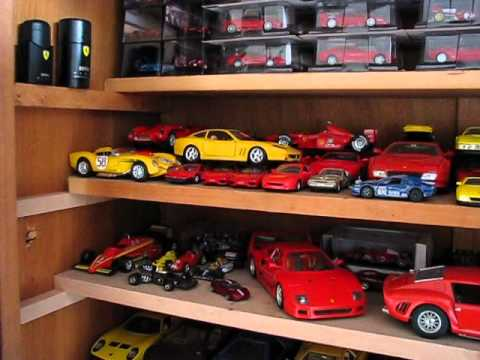 collection de voitures miniatures ferrari youtube. Black Bedroom Furniture Sets. Home Design Ideas