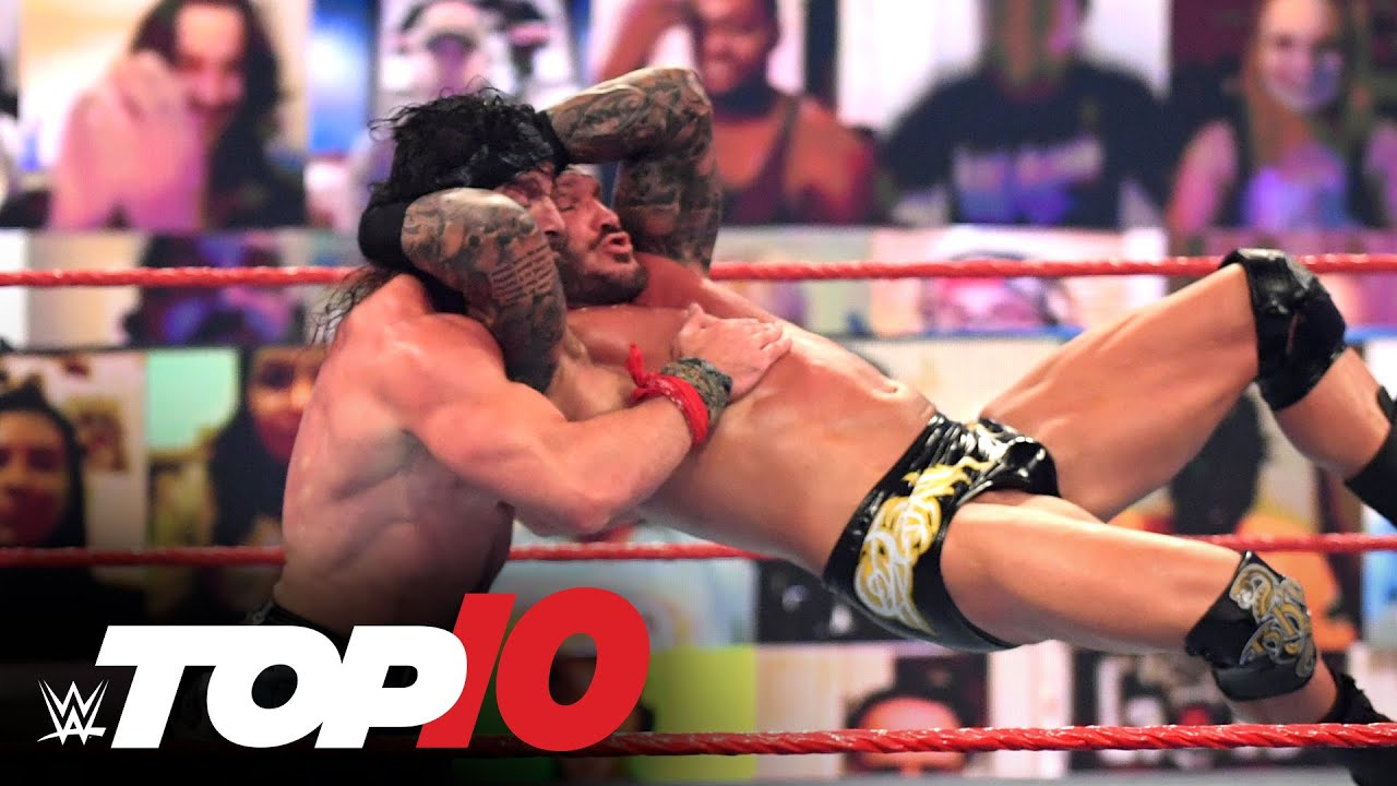 Top 10 Raw moments: WWE Top 10, May 10, 2021