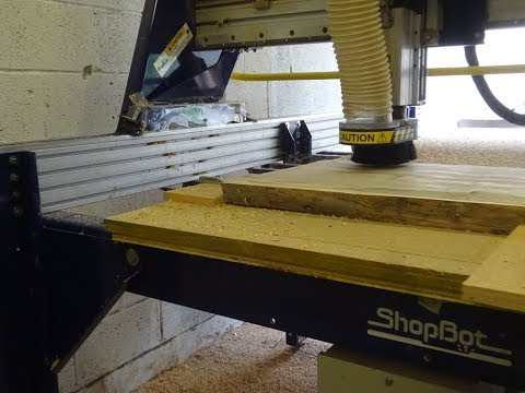 CNC Cleaner: Live Edge & MDF Cleaning