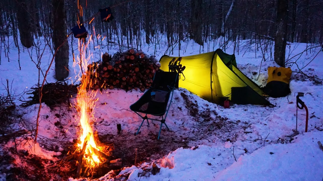 1 - Winter Camping in Algonquin Park Canada - YouTube