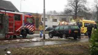 Gewonden bij ongeval op N377 in Nieuwleusen