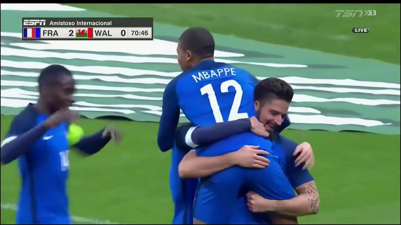 Download France vs Wales 2-0 ● All Goals and Highlights HD ● 10 Nov 2017