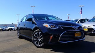 2018 Toyota Avalon XLE Plus 3.5 L V6 Review