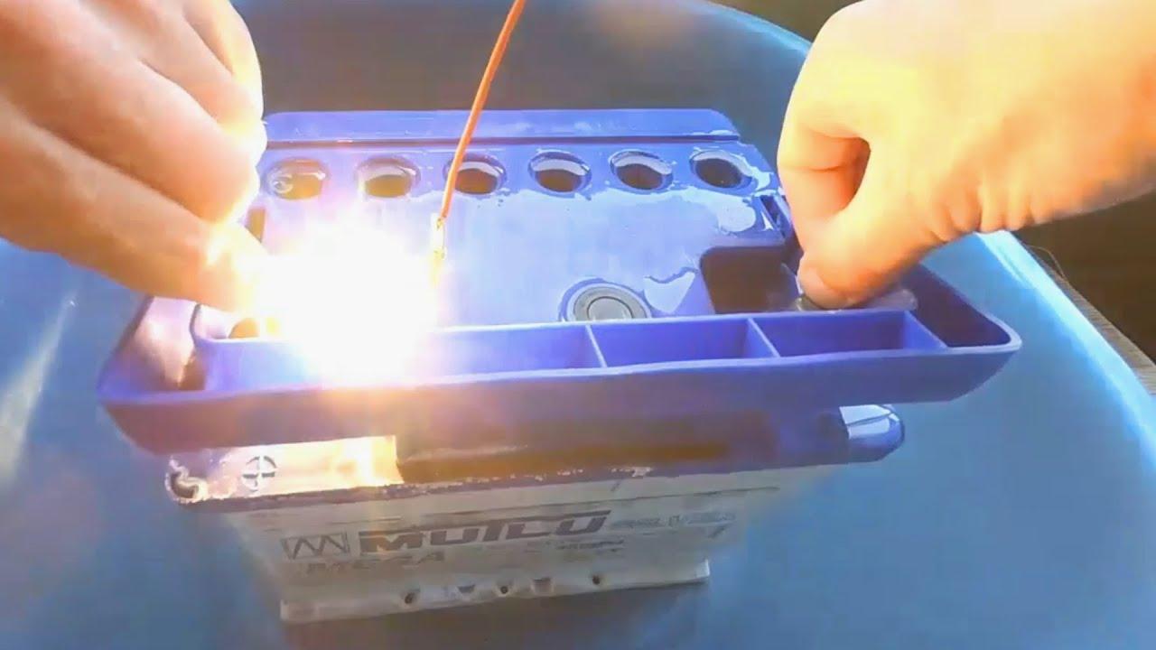 Восстановление аккумулятора своими руками. Заглянем внутрь аккума Эндоскопом. Итог и результат.