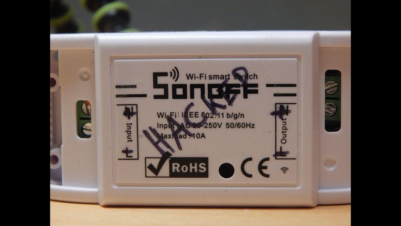 Sonoff Basic Rebuild to Low Voltage (12V): 6 Steps