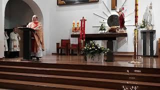 Msza Święta Rezurekcyjna w Kościele pw. Podwyższenia Krzyża Świętego w Działdowie