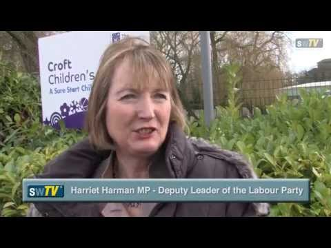 Election Countdown In Swindon - Harriet Harman MP Interview VIDEO EXCLUSIVE