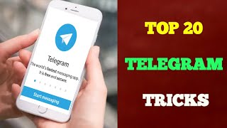 20 Best Telegram Tips and Tricks in 2020 | Telegram vs WhatsApp | Telugu Tech Trends