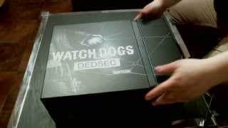 Unboxing Watch Dogs DEDSEC_Edition (Playstation 4)