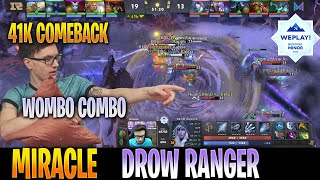 Miracle - Drow Ranger | WOMBO COMBO 41K NET COMEBACK | GRAND FINALS WePlay! Bukovel Minor | Dota2Pro