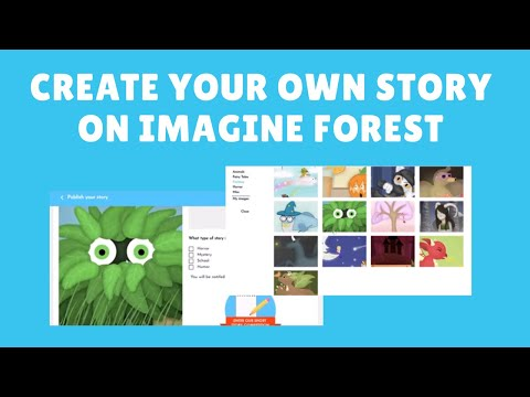 Create Your Own Story On Imagine Forest