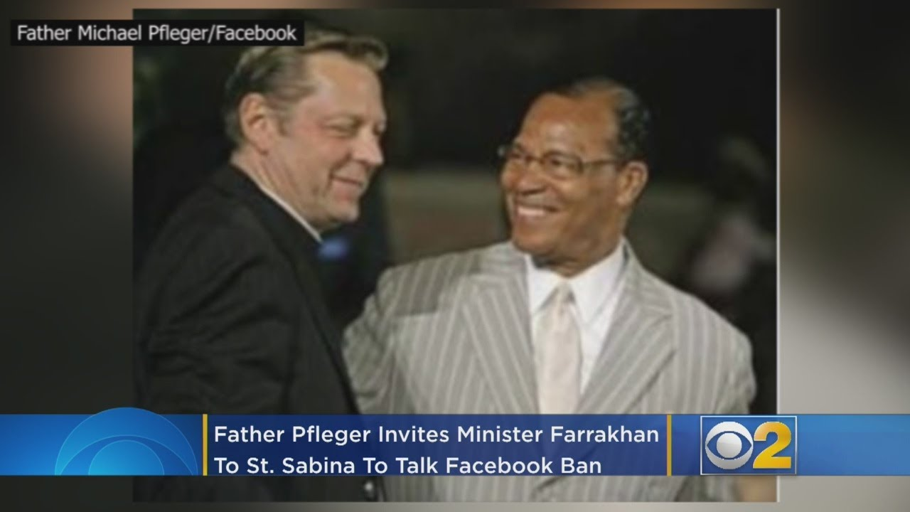 Father Pfleger Invites Minister Farrakhan To St. Sabina To Talk Facebook Ban