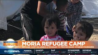 Greece: Moria refugee camp on Lesbos