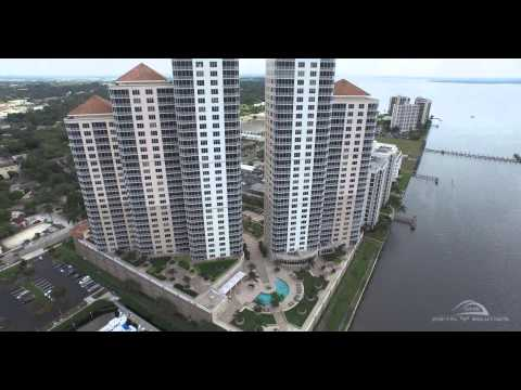 Downtown Fort Myers, Florida (Inspire1 - 4K)